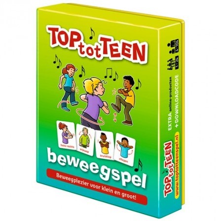 TOP-tot-TEEN 6 Beweegspellen