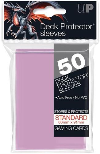 Sleeves - Standaard Fel Roze (66x91 mm)