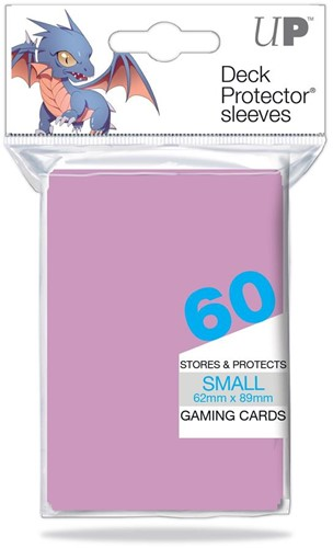 Sleeves - Small Bright Pink (62x89 mm)