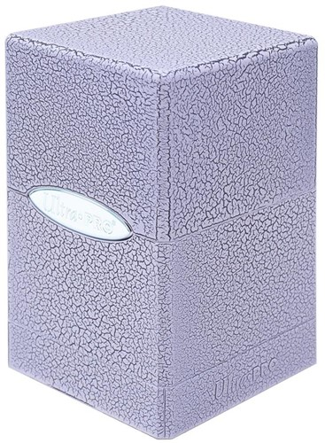 Deckbox Satin Tower Ivory Crackle