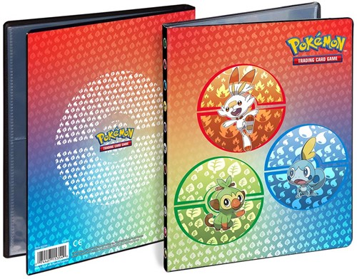 Pokemon 4-Pocket Portfolio - Galar Starters