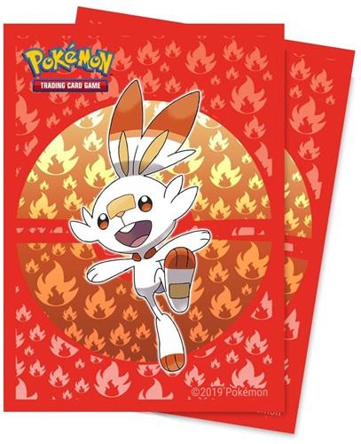 Pokemon Sleeves - Galar Scorbunny (65 stuks)