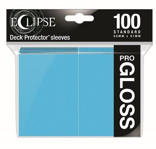 Standard Sleeves Gloss Eclipse - Licht Blauw (100 stuks)