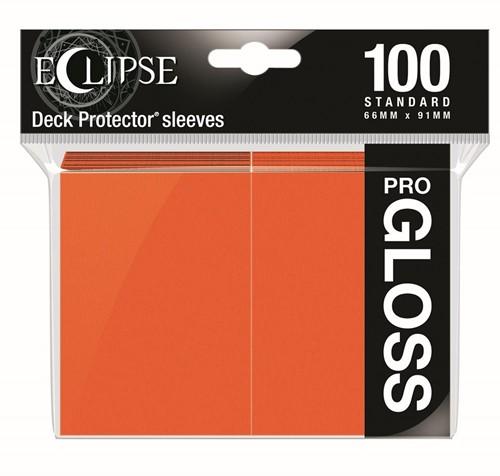 Standard Sleeves Gloss Eclipse - Oranje (100 stuks)