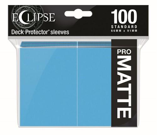 Standard Sleeves Matte Eclipse - Licht Blauw (100 stuks)