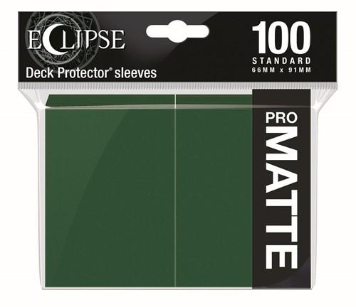 Standard Sleeves Matte Eclipse - Donker Groen (100 stuks)