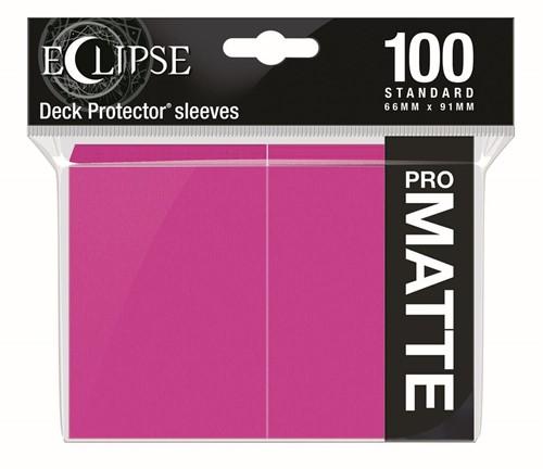 Standard Sleeves Matte Eclipse - Roze (100 stuks)