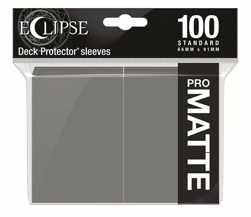 Standard Sleeves Matte Eclipse - Grijs (100 stuks)