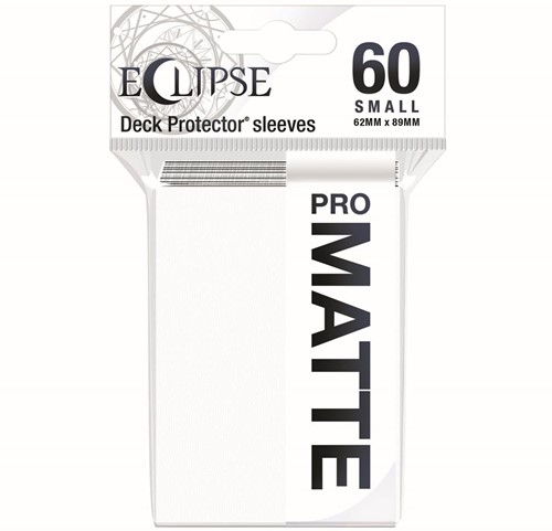 Sleeves Eclipse Matte Small - Wit (62x89 mm)