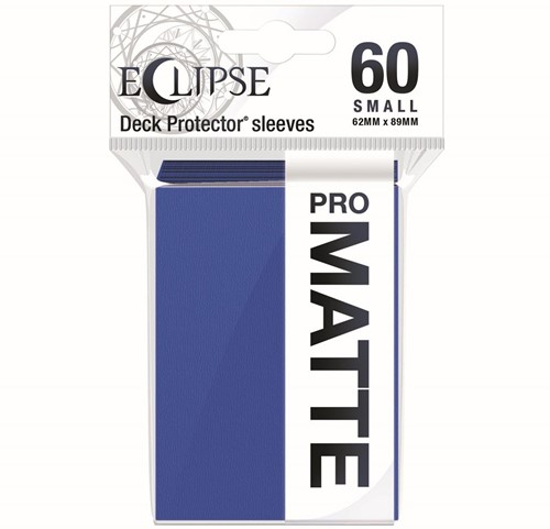 Sleeves Eclipse Matte Small - Blauw (62x89 mm)