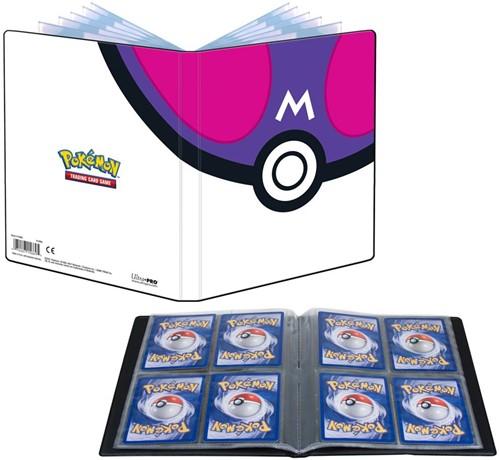 Pokemon 4-Pocket Portfolio - Master Ball