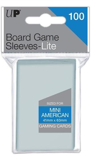 Sleeves Lite Mini American Board Games 41x63 (100 stuks)