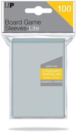 Sleeves Lite Standard American 56x87 (100 stuks)