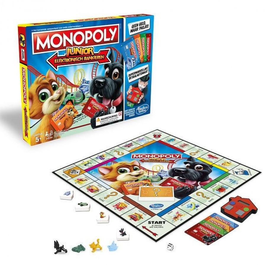 Monopoly Junior Elektronisch Bankieren Kopen Bij Spellenrijknl