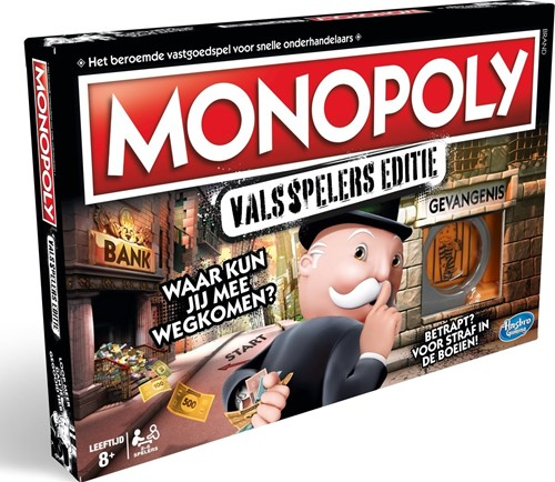 Monopoly - Valsspelers Editie (Doos beschadigd)