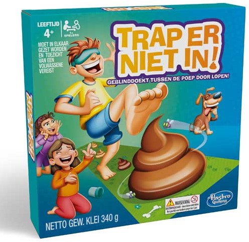 Trap Er Niet In - Kinderspel-1