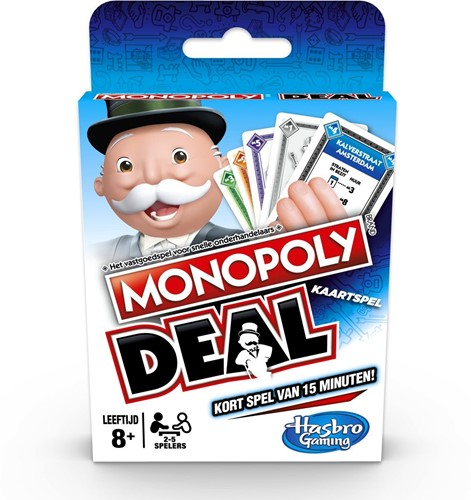Monopoly Deal - Kaartspel (Beschadigd)