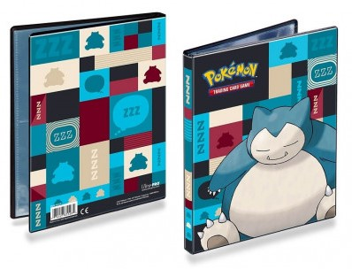 Pokemon Snorlax 4-Pocket Verzamelmap