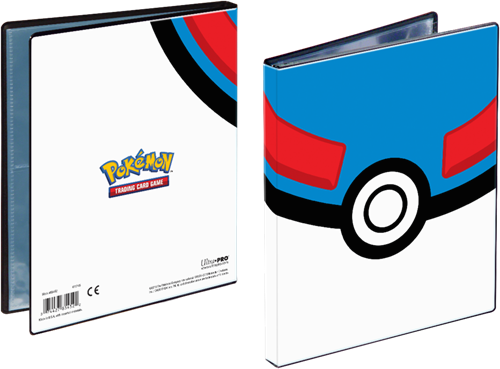 Pokemon 4-Pocket Portfolio - Great Ball