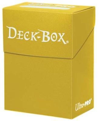 Deckbox Solid Yellow