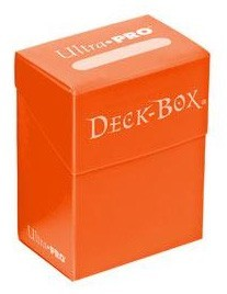 Deckbox Solid - Orange