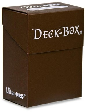 Deckbox Solid Brown