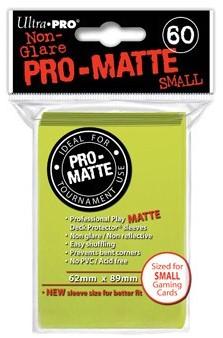 Sleeves Pro-Matte - Small Fel Geel (62x89 mm)