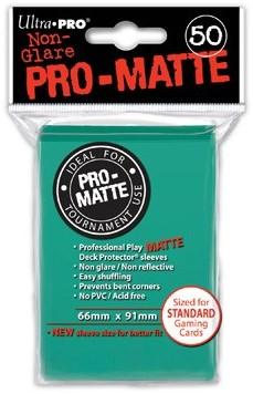 Sleeves Pro-Matte - Standaard Aqua (66x91 mm)