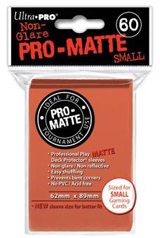 Sleeves Pro-Matte - Small Peach (62x89 mm)