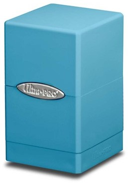 Deckbox Satin Tower Licht Blauw