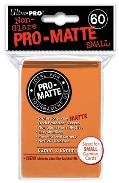 Sleeves Pro-Matte - Small Oranje (62x89 mm)