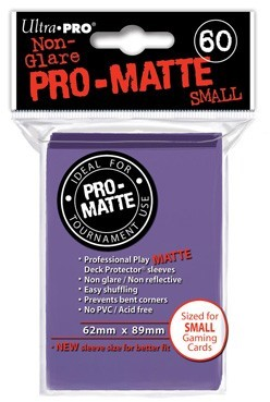Sleeves Pro-Matte - Small Paars (62x89 mm)
