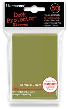 Sleeves - Standaard Metallic Gold (66x91 mm)