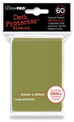 Sleeves Metallic Gold Small (62x89 mm)
