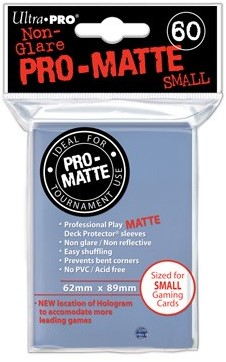 Sleeves Pro-Matte - Small Transparant (62x89 mm)