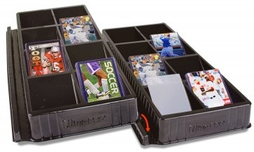 Toploader & One-Touch Card Sorting Tray (4 stuks)