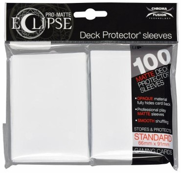 Sleeves Eclipse Arctic White (66x91 mm)