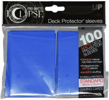 Sleeves Eclipse Pacific Blue (66x91 mm)