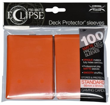 Sleeves Eclipse Oranje (66x91 mm)