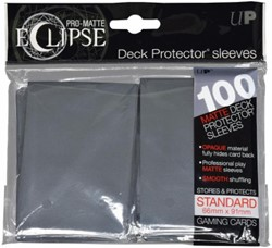 Sleeves Eclipse Smoke Grey (66x91 mm)