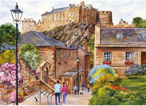 Edinburgh - The Vennel (1000 stukjes)