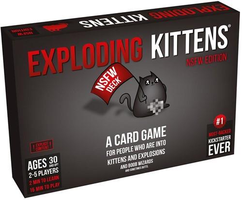 Exploding Kittens - NSFW Deck