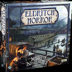Eldritch Horror - Masks of Nyarlathotep