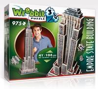 Wrebbit 3D Puzzel - Empire State Building (975 stukjes)-1