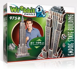 Wrebbit 3D Puzzel - Empire State Building (975 stukjes)