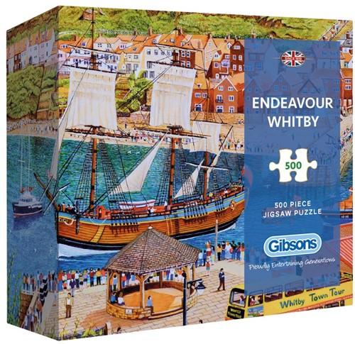 Endeavour Whitby - Gift Box Puzzel (500 stukjes)