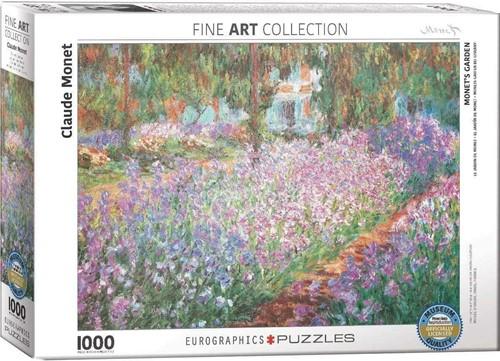 Monet´s Garden - Claude Monet Puzzel (2000 stukjes)