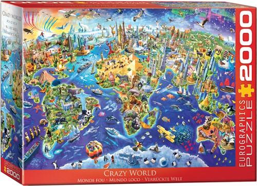 Crazy World Puzzel (2000 stukjes)