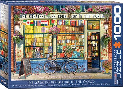The Greatest Bookstore in the World Puzzel (1000 stukjes)