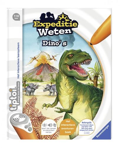 Tiptoi Boek - Expeditie Weten: Dino's